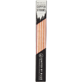 United By Blue Adventure Copper Straw Set 355ml, copper